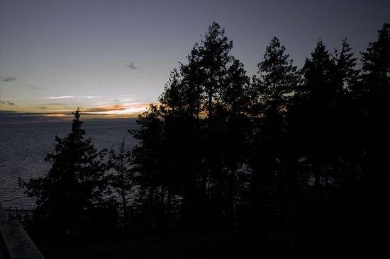 Ellison Bay, WI: The end of the sundown