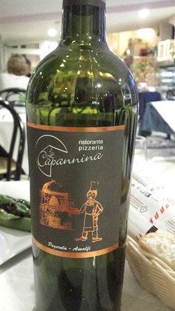 La Capannina: vino rosso