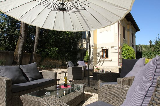 Hotel Villa Betania: Terrace