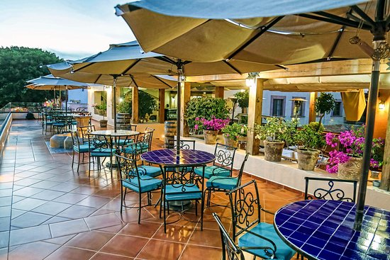 Hotel La Plaza de Tequisquiapan: Terraza