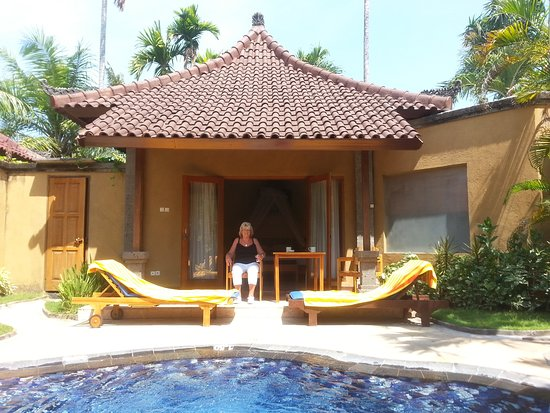Parigata Villas Resort: Prachtig kleine villa met pool.