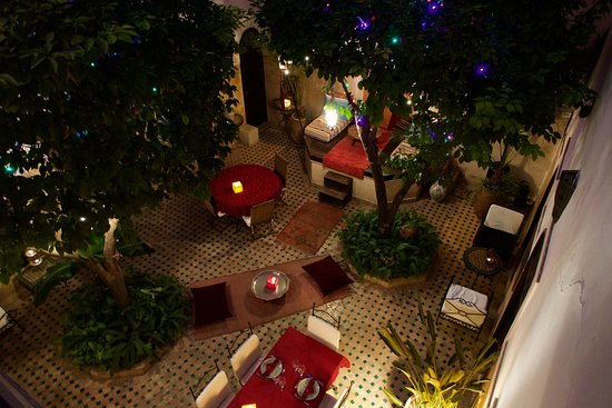 Riad Aguerzame: Courtyard of the Riad
