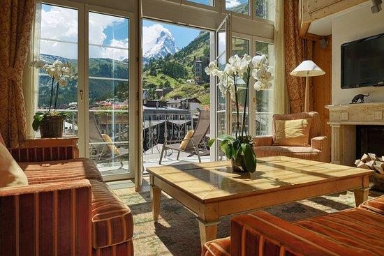 Hotel Mont Cervin Palace: Alpine-Matterhorn-Duplex-Suite