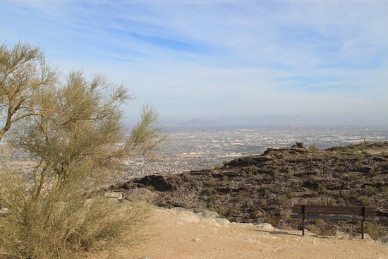 Phoenix Suburbs From South Mountain Park