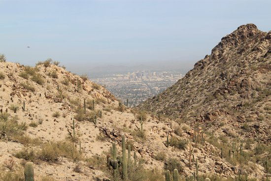 South Mountain Park: Downtown Phoenix In the Distance