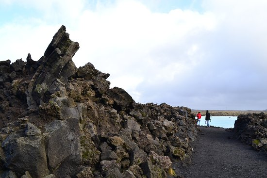 Grindavik, Island: Outside the entrance