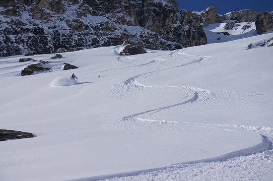 Sainte-Foy-Tarentaise, Francia: powder, safety, adventure, sport, adrenaline
