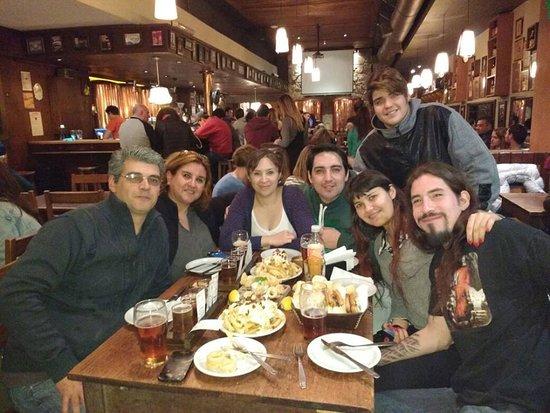 Cervecería Antares: salida con sobrinos