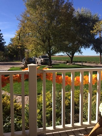 Scottsbluff, NE: Parking Lot from front porch