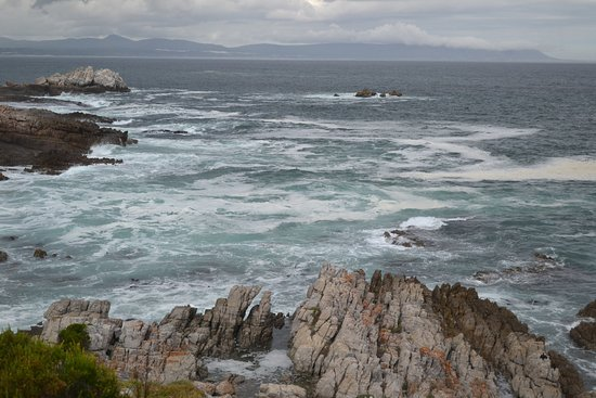 Херманус, Южная Африка: ocean view from hermanus restaurant