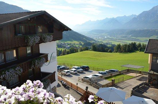 Weerberg, Áustria: Blick ins Inntal richtung Insbruck
