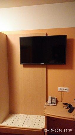 city hotel ljubljana tv u sobi