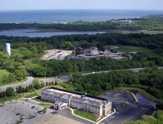 South Kingstown, Rhode Island: Hotel Aerial View