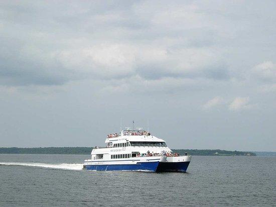 South Kingstown, Rhode Island: Ferry