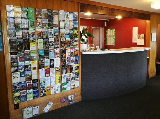 Whanganui, New Zealand: Reception Area