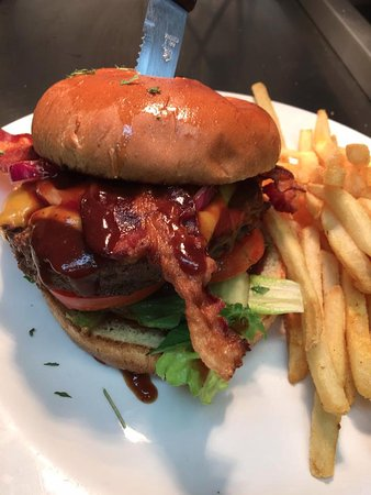 Arab, AL: This delicious Chuck Burger is just one of many wonderful menu options!