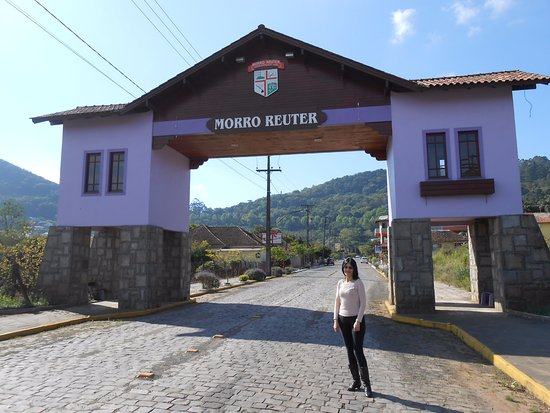 Portico de Entrada de Morro Reuter