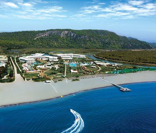 Hilton Dalaman Sarigerme Resort & Spa: Aerial Hotel View