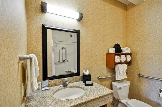 Bathroom Vanity Tucson accessible bathroom vanity - picture of hampton inn & suites