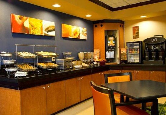 Boerne, TX: Breakfast Area