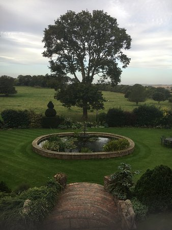 Wold Newton, UK: View from my bathroom window [Major Tophams room]