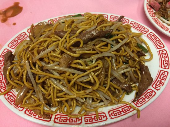 Buzzards Bay, MA: Beef lo mein
