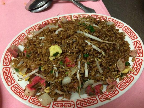 บัซซาร์ดส์เบย์, แมสซาชูเซตส์: Pork fried rice