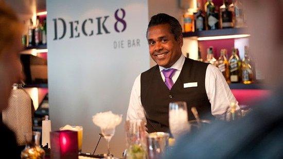 Atlantic Hotel: Hotelbar Deck 8-die Bar with Rooflounge
