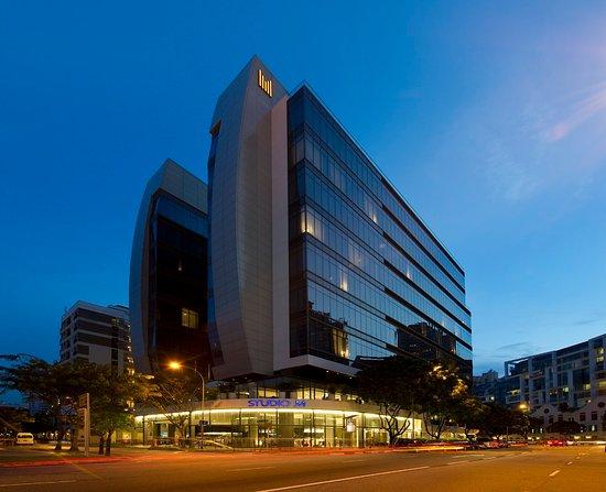Studio M Hotel: Facade-Night-