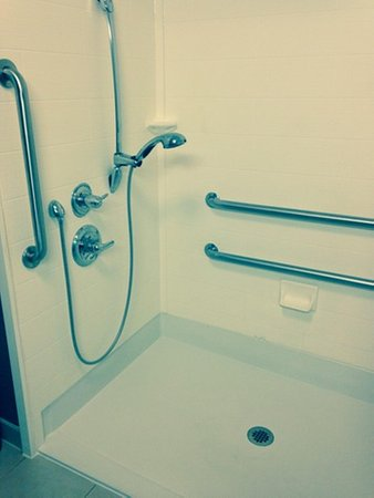 New Albany, MS: Roll-in Shower