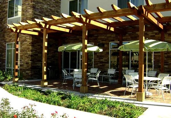 Conroe, Teksas: Patio Sitting Area