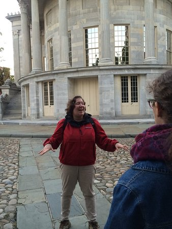 Spirits of '76 Ghost Tour of Philadelphia: Our guide, giving a great tour experience!