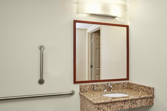 Candlewood Suites Fayetteville: ADA/Handicapped accessible Guest Bathroom vanity