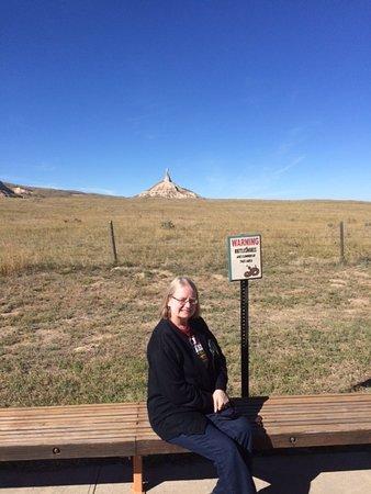 Bayard, NE: weary pioneer resting