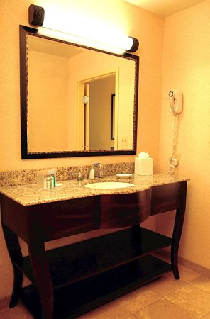 Hampton Inn & Suites Detroit/Chesterfield Township: Upscale Bathrooms