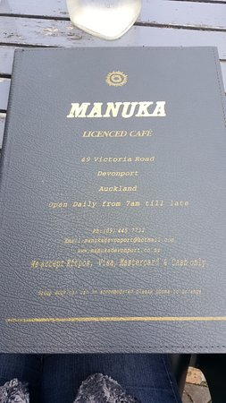 Manuka Cafe, Devonport