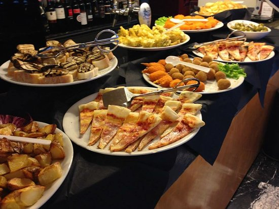 Royal Buffet Happy Hour Picture Of Bar Olimpico Milano