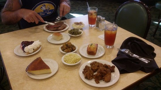 K & W Cafeteria: Deals of 2 meals for $17.99