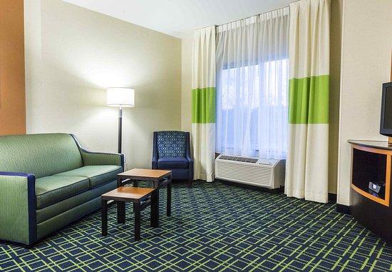 New Cumberland, Pensilvanya: One-Bedroom King Suite - Living Room