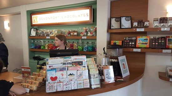 Devonport, نيوزيلندا: Devonport Chocolate factory
