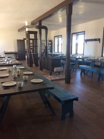 Fort Laramie, WY: the enlisted mess hall