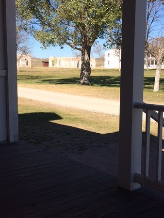 Fort Laramie, WY: view from The porch
