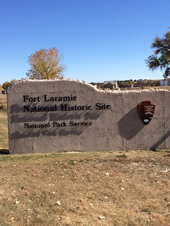 Fort Laramie, WY: The Main Entrance
