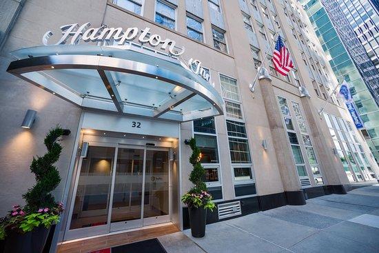 Hampton Inn Manhattan Downtown Financial District Lower Hotel Exterior