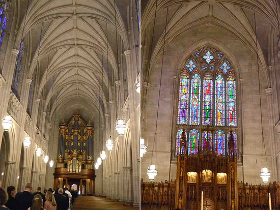 Interior of the church Picture of Duke University Chapel Durham