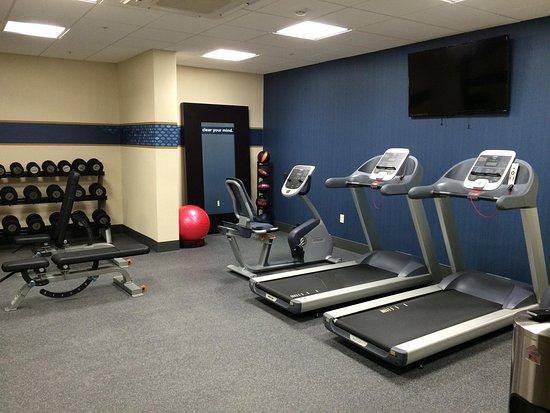 บริดจ์วิลล์, เพนซิลเวเนีย: Bridgeville Hotel fitness center