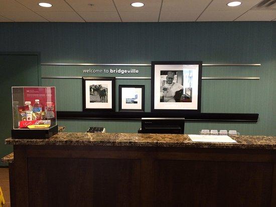 Bridgeville, PA: Reception