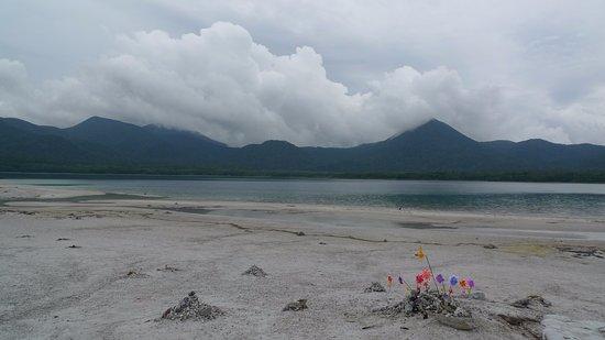 Mutsu, Japón: 嬢内にある美しい湖面
