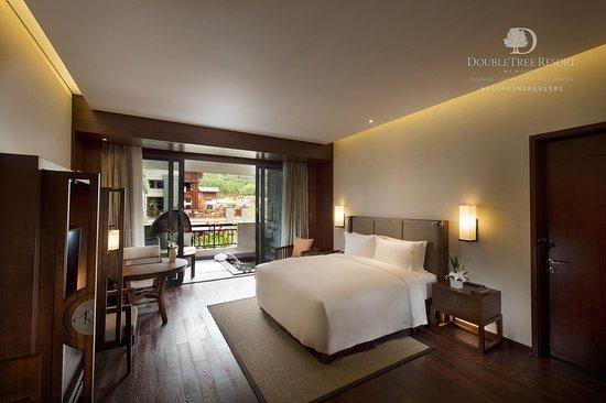Baoting County, Cina: Accessible Suite bedroom