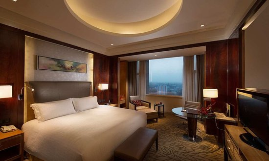 Golmud, China: King Guest Room with Mountain View